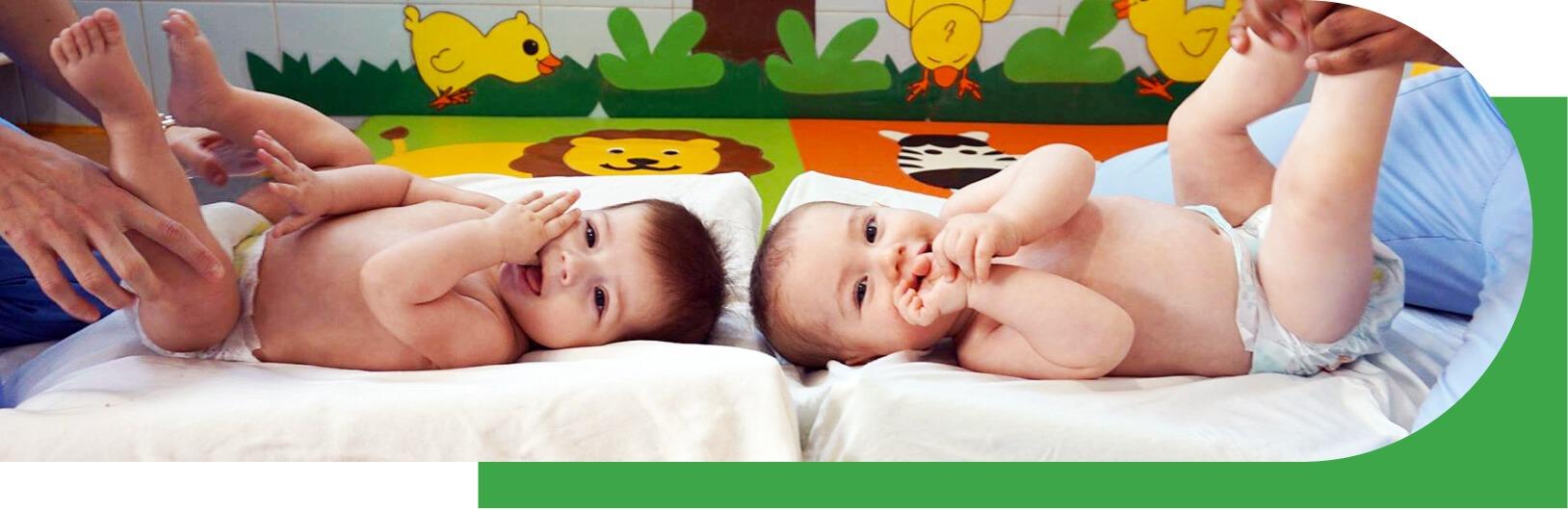 foto bebés cambiador
